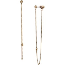 Allsaints Front to Back Knotted Chain Earrings found on Bargain Bro UK from Bloomingdales UK