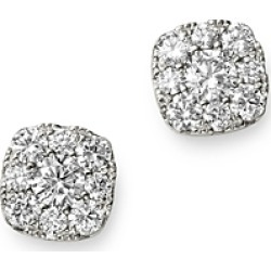 Bloomingdale's Diamond Small Cluster Stud Earrings in 14K White Gold, 0.33 ct. t.w. - 100% Exclusive found on Bargain Bro UK from Bloomingdales UK