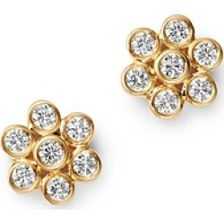 Bloomingdale's Diamond Bezel Set Flower Stud Earrings in 14K Yellow Gold, 0.45 ct. t.w. - 100% Exclusive found on Bargain Bro UK from Bloomingdales UK