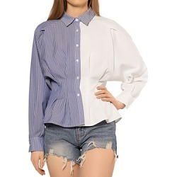 Gracia Half and Half Pleat Waist Shirt (43% off) - Comparable value $88 found on Bargain Bro Philippines from Bloomingdale's Australia for $53.31
