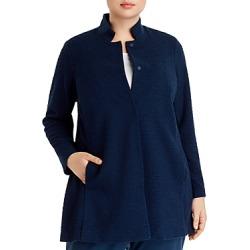 Eileen Fisher Plus Jacquard-Knit Jacket