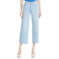 DL1961 Hepburn High Rise Wide Leg Jeans in Baby Blue found on Bargain Bro India from Bloomingdale's Australia for $209.84