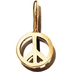Zoe Chicco 14K Yellow Gold Midi Bitty Peace Charm found on Bargain Bro India from Bloomingdales Canada for $83.91