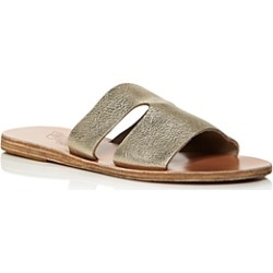 Ancient Greek Sandals Women's Apteros Flat Slide Sandals found on Bargain Bro Philippines from bloomingdales.com for $235.00
