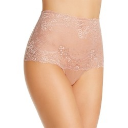Wacoal Level Up Lace High-Waist Thong found on Bargain Bro India from bloomingdales.com for $28.00