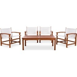 Safavieh Mardin 5-Piece Indoor/Outdoor Dining Set found on Bargain Bro from bloomingdales.com for USD $644.48