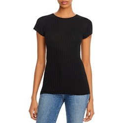 Joie Filana Ribbed Knit Short Sleeve Shirt found on MODAPINS from bloomingdales.com for USD $81.40
