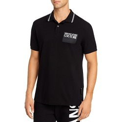 Versace Jeans Couture Logo Patch Regular Fit Polo found on Bargain Bro Philippines from Bloomingdale's Australia for $132.31