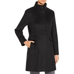 Calvin Klein Mid-Length Stand Collar Coat