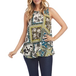 Karen Kane Mosaic Print Top found on Bargain Bro Philippines from bloomingdales.com for $75.60