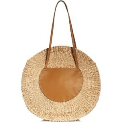 Kayu Belen Large Leather & Straw Tote found on MODAPINS from Bloomingdales Canada for USD $122.53