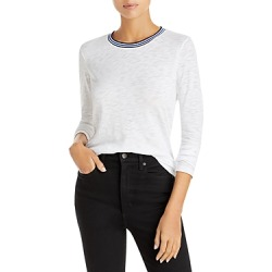 Goldie Metallic Trim Long Sleeve Tee found on MODAPINS from Bloomingdale's Australia for USD $104.58