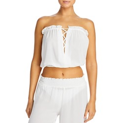 Ramy Brook Mika Cropped Top Swim Cover-Up found on Bargain Bro from Bloomingdales Canada for USD $116.08