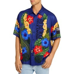 Versace Jeans Couture Tropical Print Short-Sleeve Regular Fit Button-Down Shirt found on Bargain Bro Philippines from Bloomingdale's Australia for $476.30