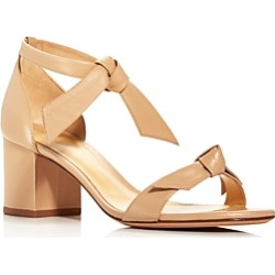 Alexandre Birman Women's Clarita Ankle Tie Block Heel Sandals found on MODAPINS from Bloomingdales UK for USD $635.55
