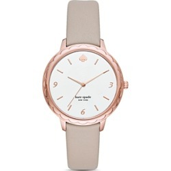 kate spade new york Morningside Taupe Leather Strap Watch, 34mm found on Bargain Bro Philippines from Bloomingdales Canada for $184.61