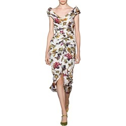 Jason Wu Floral Print Midi Dress found on MODAPINS from bloomingdales.com for USD $808.50
