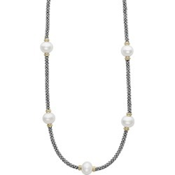 Lagos 18K Gold and Sterling Silver Luna Rope Necklace with Cultured Freshwater Pearls, 16 found on Bargain Bro India from Bloomingdales Canada for $728.98