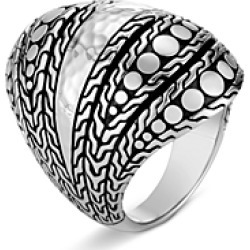 John Hardy Hammered Sterling Silver Dotted Ring found on Bargain Bro India from Bloomingdale's Australia for $523.93