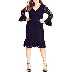 City Chic Desire Lace Dress found on MODAPINS from Bloomingdales Canada for USD $124.34
