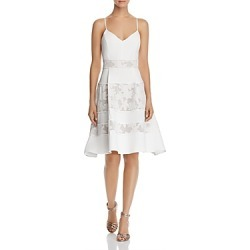 Adelyn Rae Elyse Lace-Inset Dress found on MODAPINS from bloomingdales.com for USD $128.00