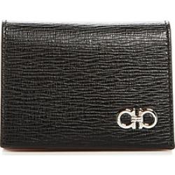 Salvatore Ferragamo Revival Gancini Leather Bi-Fold Card Case found on Bargain Bro UK from Bloomingdales UK