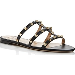 Valentino Garavani Women's Rockstud Slide Sandals found on Bargain Bro India from bloomingdales.com for $675.00