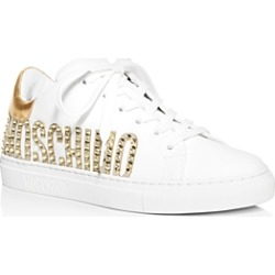 Moschino Women's Embellished Logo Low-Top Sneakers found on Bargain Bro Philippines from Bloomingdale's Australia for $303.88