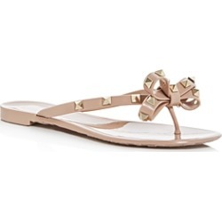Valentino Garavani Women's Rockstud Bow Flip-Flops found on Bargain Bro India from bloomingdales.com for $425.00