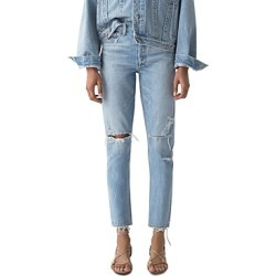 Agolde Jamie High Rise Tapered Jeans in Shakedown found on MODAPINS from Bloomingdale's Australia for USD $189.54