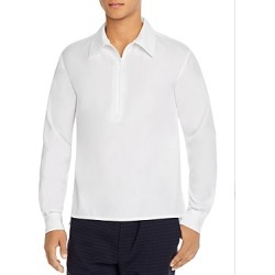 Barena Botega Half-Zip Regular Fit Shirt found on MODAPINS from Bloomingdales UK for USD $165.88