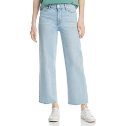 Paige Nellie Crop Wide-Leg Jeans in Myrtle found on Bargain Bro India from Bloomingdale's Australia for $182.47