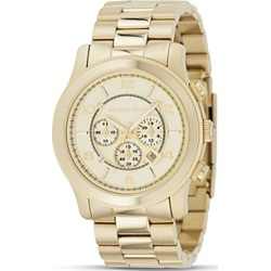 Michael Kors Oversized Chronograph Goldtone Watch, 44 mm found on Bargain Bro India from Bloomingdales Canada for $287.73