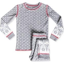 Pj Salvage Girls' Fair Isle Tee & Pants Pajama Set - Little Kid, Big Kid