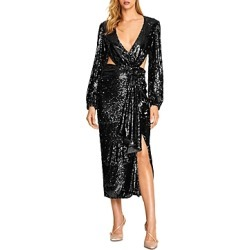 Alice McCall Electric Orchid Cutout Sequin Gown found on MODAPINS from bloomingdales.com for USD $249.90