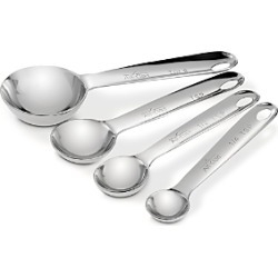 All Clad Stainless Steel Measuring Spoon Set found on Bargain Bro Philippines from Bloomingdales Canada for $26.38