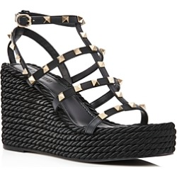 Valentino Garavani Women's Rockstud Caged Wedge Sandals found on Bargain Bro Philippines from Bloomingdale's Australia for $841.46