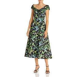 Jason Wu Printed Midi Dress found on MODAPINS from bloomingdales.com for USD $1095.00