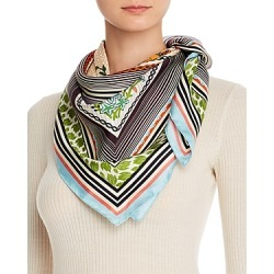 Tory Burch Homage to the Flower Silk Square Scarf found on Bargain Bro UK from Bloomingdales UK