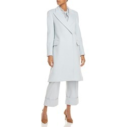 Alberta Ferretti Long Trench Coat found on MODAPINS from bloomingdales.com for USD $1317.00