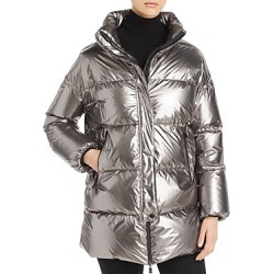 Herno Laminar Funnel-Collar Metallic Down Coat found on MODAPINS from Bloomingdales Canada for USD $812.72