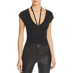 alexanderwang.t Deep-v Jersey Bodysuit found on Bargain Bro India from bloomingdales.com for $225.00