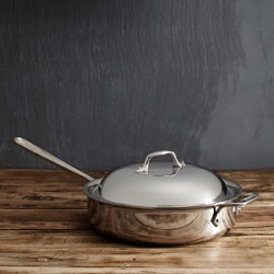 All-Clad Stainless Steel 4-Quart Saute Pan with Lid found on Bargain Bro Philippines from Bloomingdales Canada for $279.46