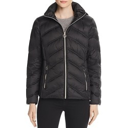 Michael Michael Kors Chevron Packable Short Down Coat found on Bargain Bro India from Bloomingdales Canada for $188.33