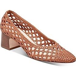 Loeffler Randall Women's Imogene Woven Block-Heel Pumps found on MODAPINS from bloomingdales.com for USD $278.44