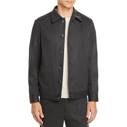 Barena Secamoro Regular Fit Pinstriped Shirt Jacket found on MODAPINS from Bloomingdales Canada for USD $310.58
