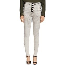 J Brand Natasha Sky High Skinny Jeans in Fragment found on MODAPINS from Bloomingdale's Australia for USD $206.86