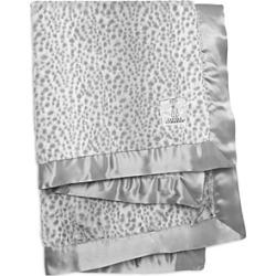 Little Giraffe Luxe Faux Fur Snow Leopard Blanket - Baby