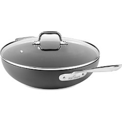 All-Clad Hard Anodized Nonstick 12 Chef's Pan with Lid found on Bargain Bro from Bloomingdales Canada for USD $79.21