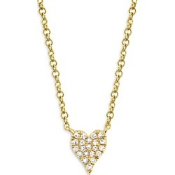 Ron Hami 14K Gold Diamond Pave Heart Necklace (59%) - Comparable value $976 found on Bargain Bro from Bloomingdales Canada for USD $322.98